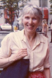Ruth Hulburt Hamilton on shopping trip