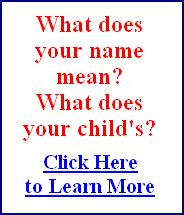 Numerology Question - What does your name mean?